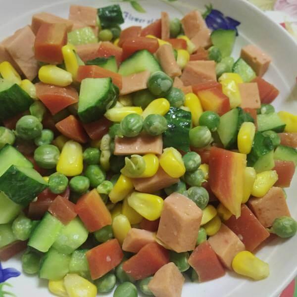 家常版火腿豌豆