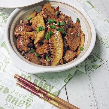 竹笋炒鸡翅