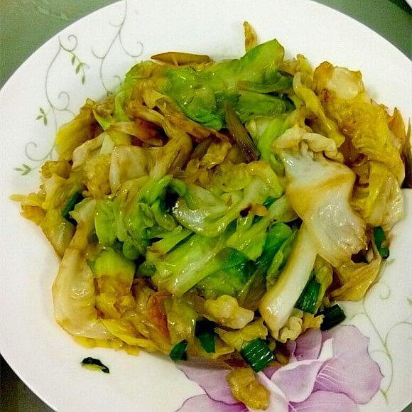 蒜蓉京包菜
