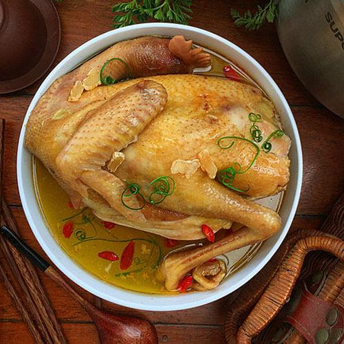 美味天麻核桃枸杞鸡汤