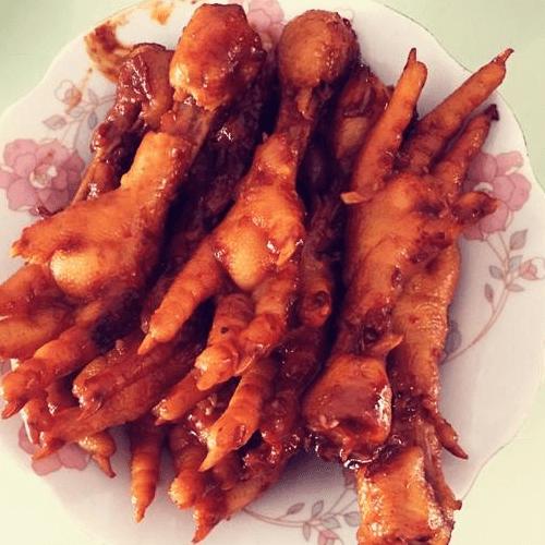 韩式辣酱鸡爪