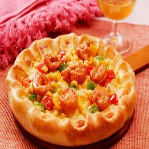 美味鲜虾披萨