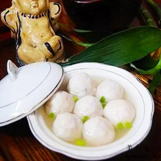 营养美食闽南鱼丸