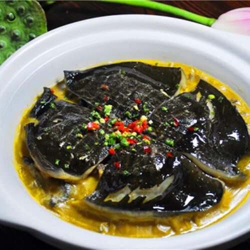 美味的河洲红烧甲鱼