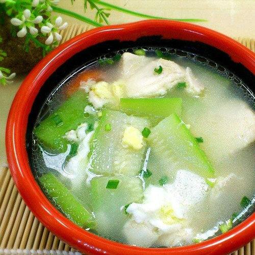 黄瓜鱼片汤