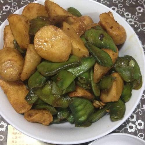 美味青扁豆煮芋仔