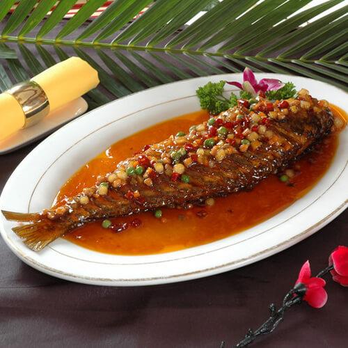 香嫩红烧鱼