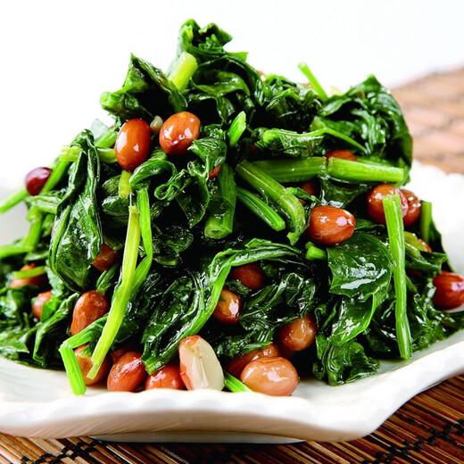 营养美味的菠菜花生