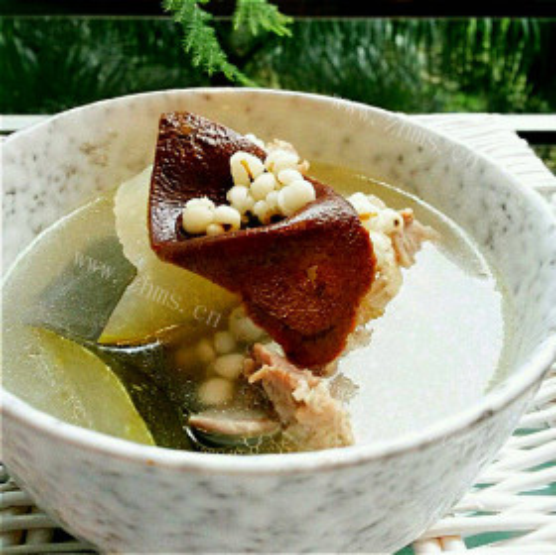 猪俐薏米汤