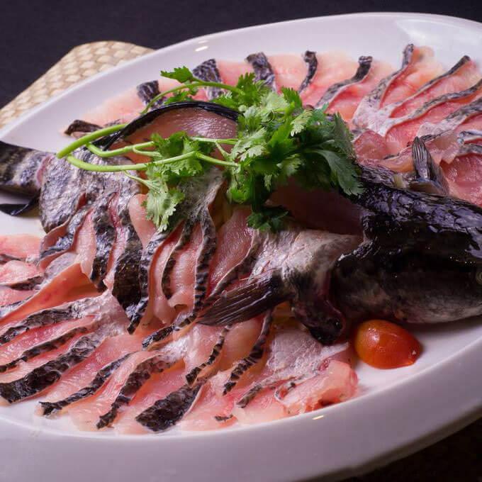 美味的豆鼓牛肉酱黑鱼片