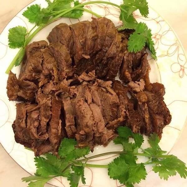 美味卤水瘦肉心片