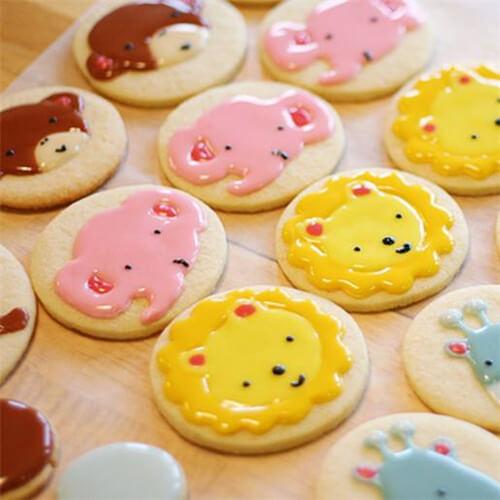 卡通造型饼干
