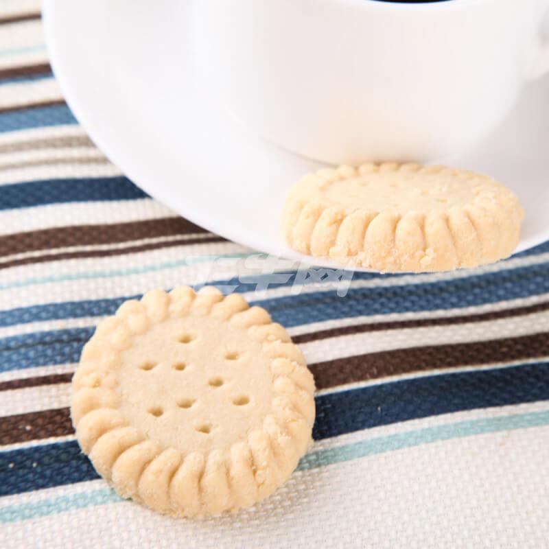 甜甜的黄油圆形饼干