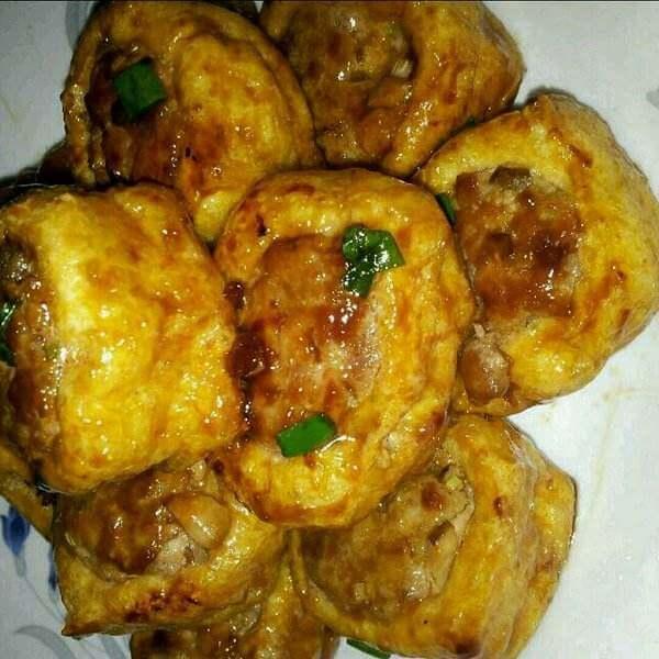 油豆腐炒螃蟹