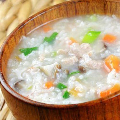 好吃的豆腐白菜瘦肉粥