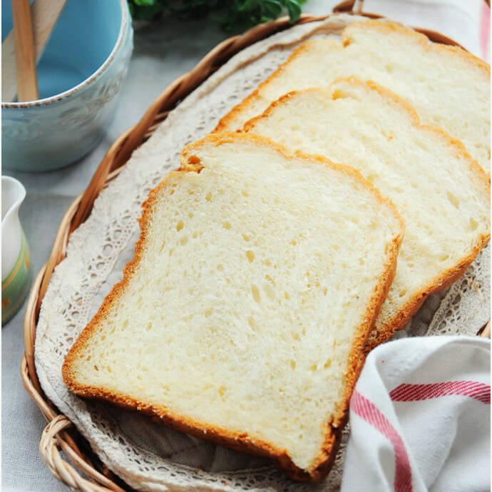 面包机版淡奶油吐司