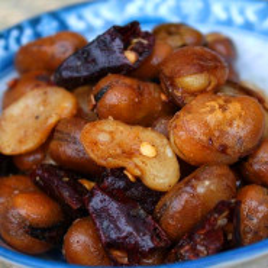 香脆的辣胡豆