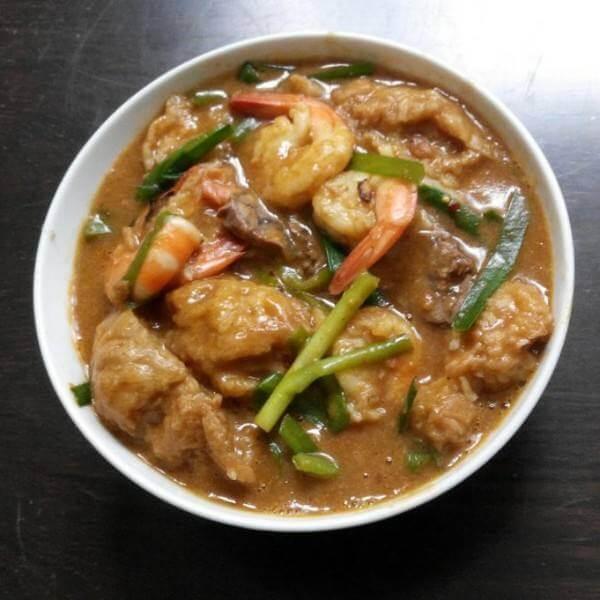 沙茶豆腐卷