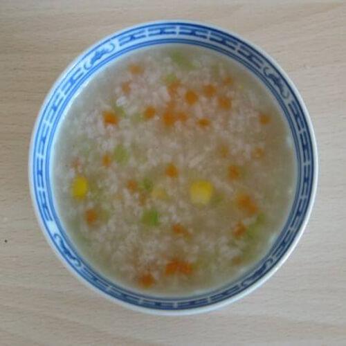 家常健康蔬菜粥