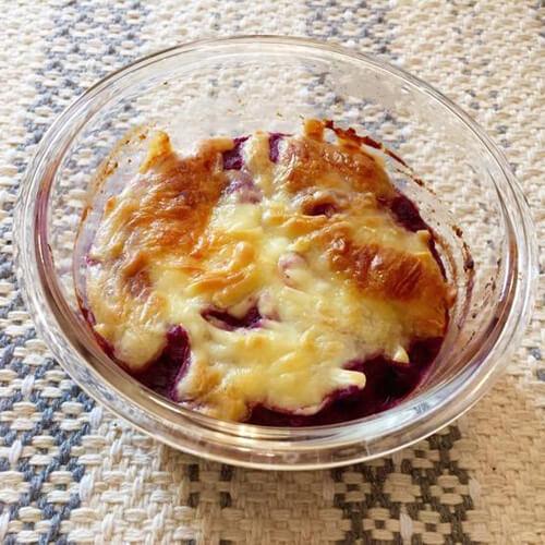 美味奶酪焗紫薯