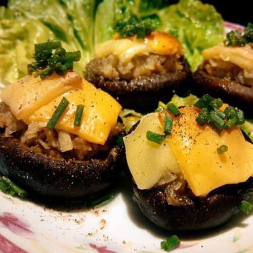 香菇芝士烩土豆