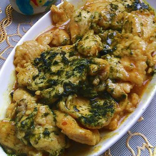 苔条咖喱鸡片