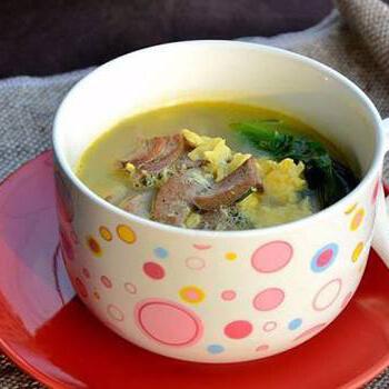 酸菜粉丝猪肝汤