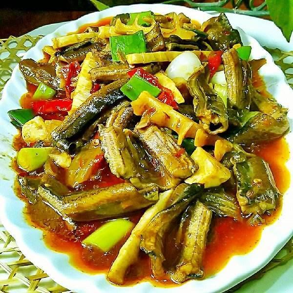 竹笋烧酸菜