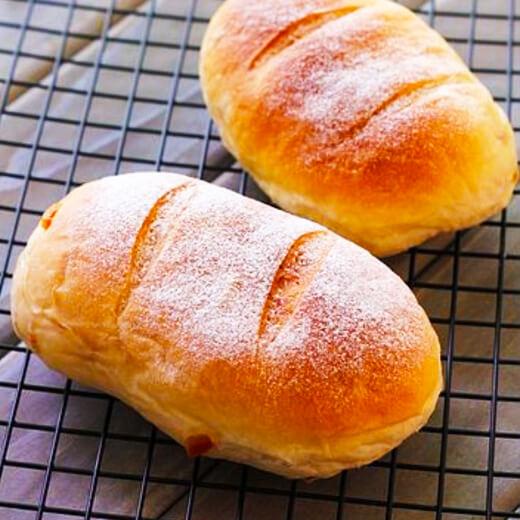 秋天来了橘子面包