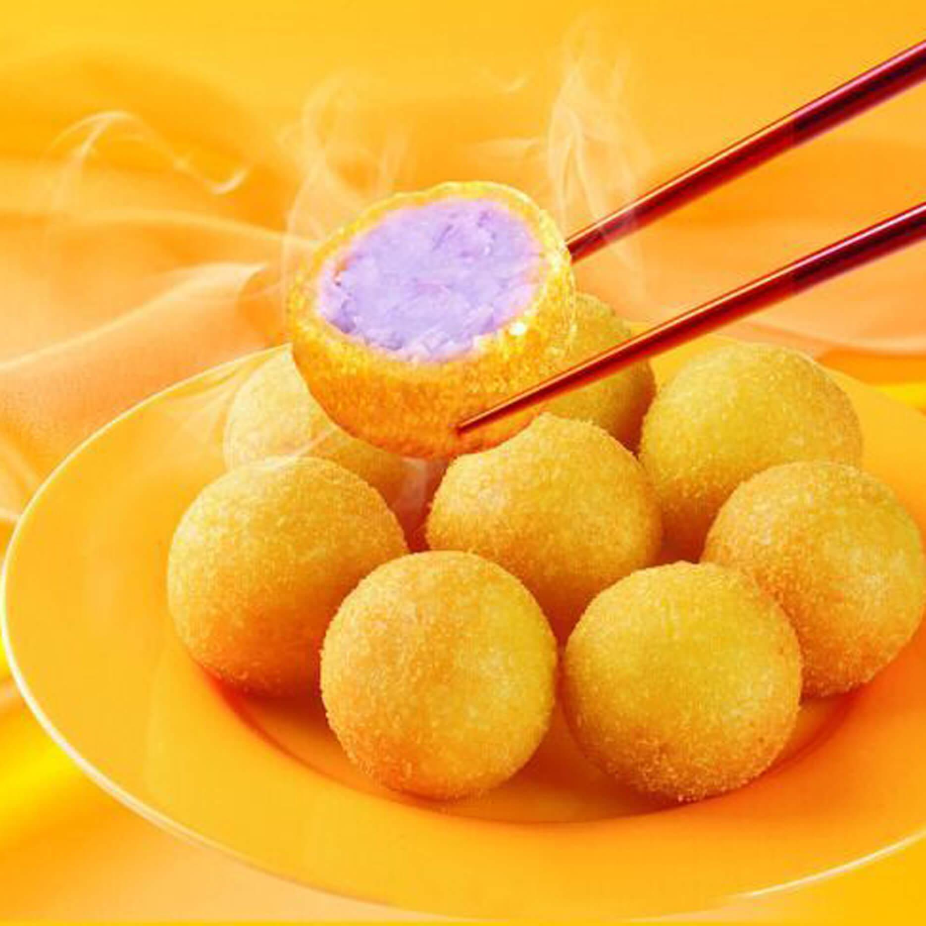 我爱吃福清番薯丸