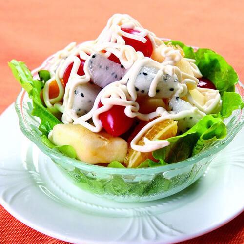 我爱吃苹果什菜沙律
