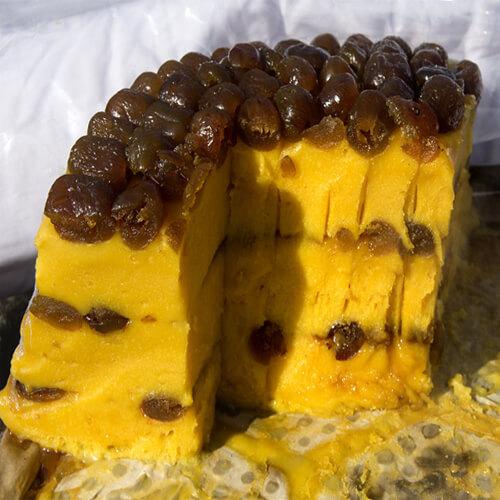 美味的东北黄米切糕