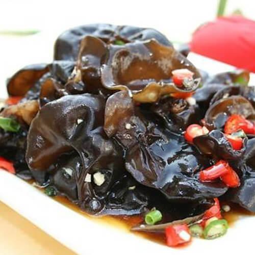 蒜米炒木耳菜