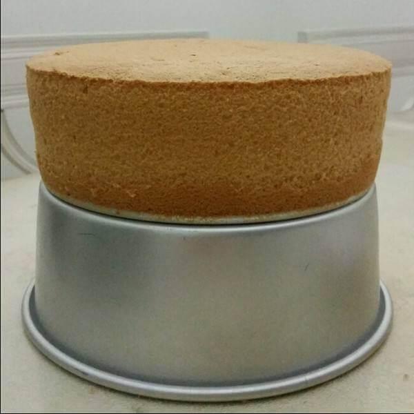 特别的十寸榴莲戚风蛋糕