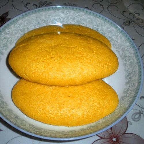 玉米黄豆蒸糕