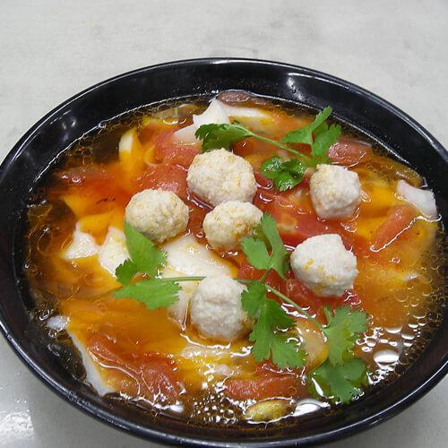 红薯小米面丸子