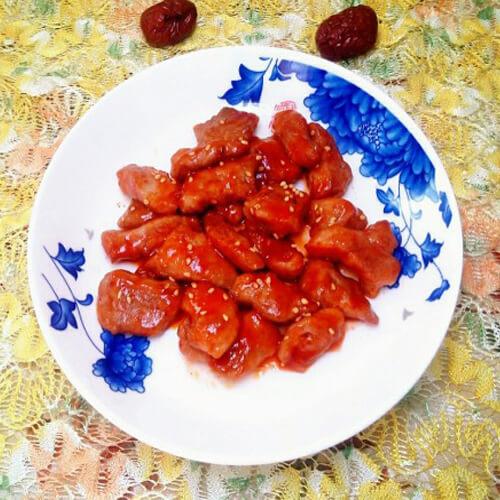 茄汁溜肉段