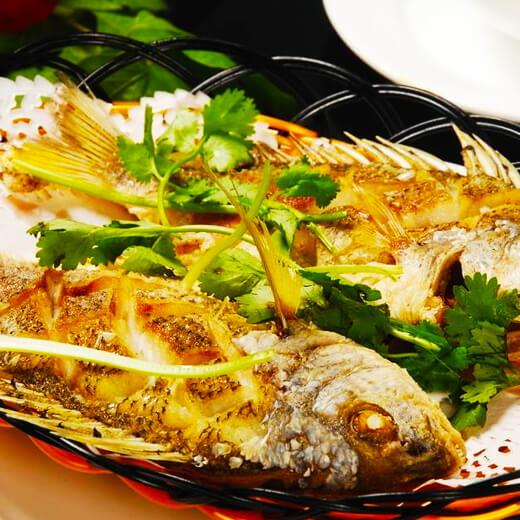 好吃的茄汁黄翅鱼