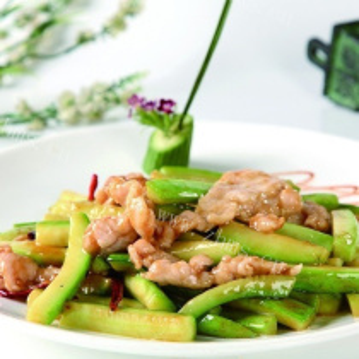 什锦蔬菜炒肉