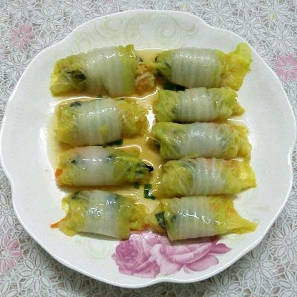 豆腐白菜卷