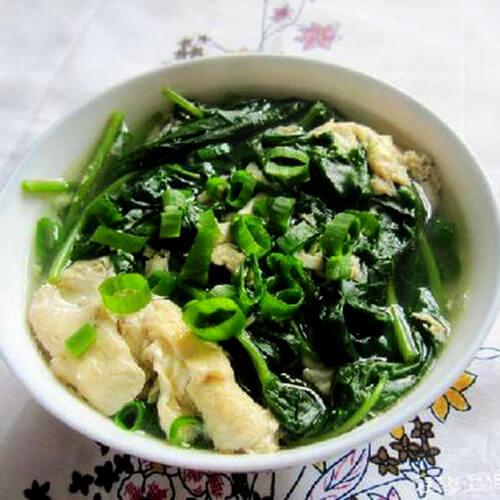 空心菜叶汤
