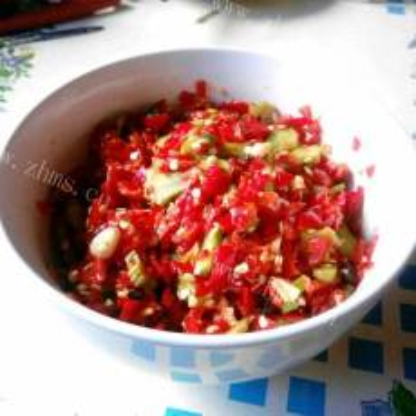 美味的湖南剁辣椒