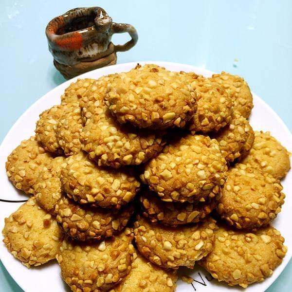 核桃干果酥饼