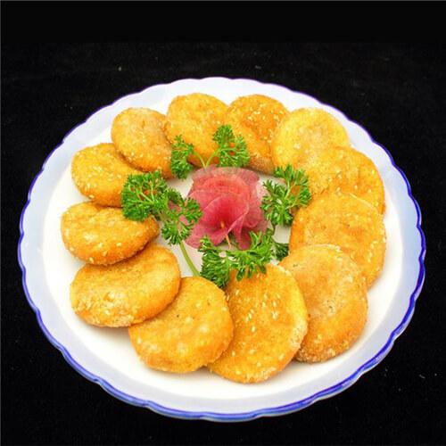 糯米南瓜小饼