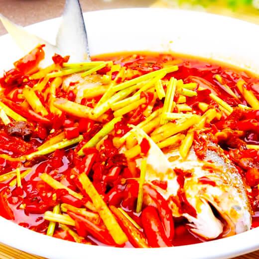 美味茄汁黄翅鱼