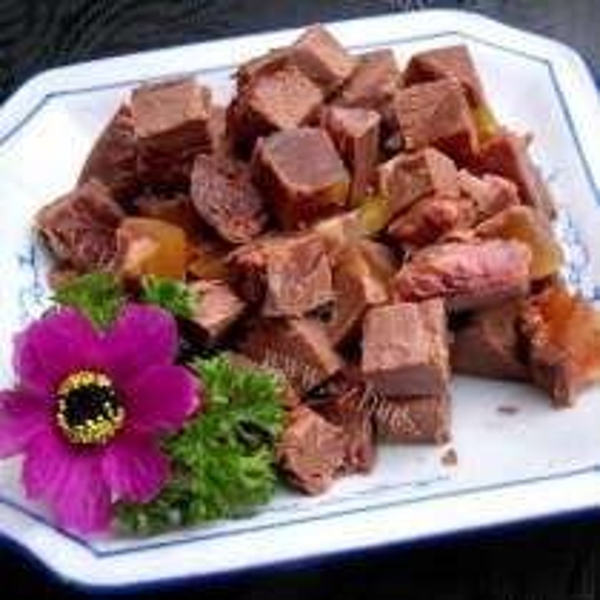 芹菜炒驴肉