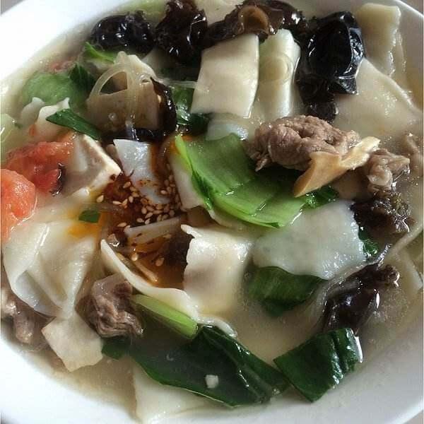 菠菜面片汤