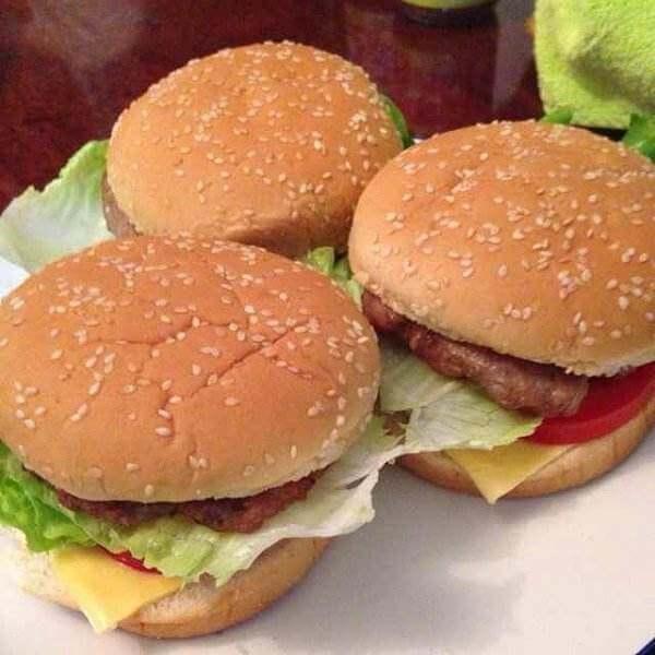 牛肉汉堡包