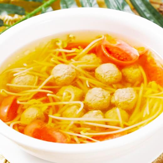 酸菜丸子汤