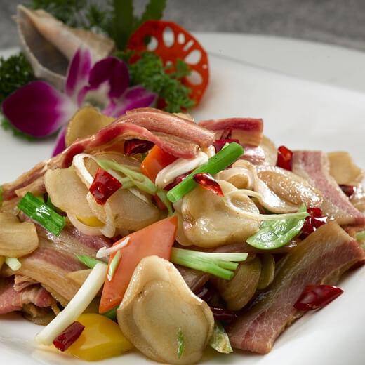腊肉炒土豆丝
